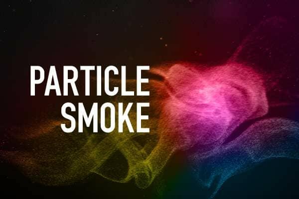 Particle Smoke Photoshop Brushes